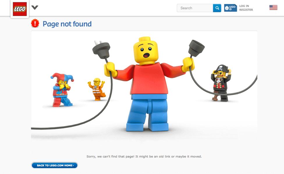 Waarom een leuke 404 pagina?
